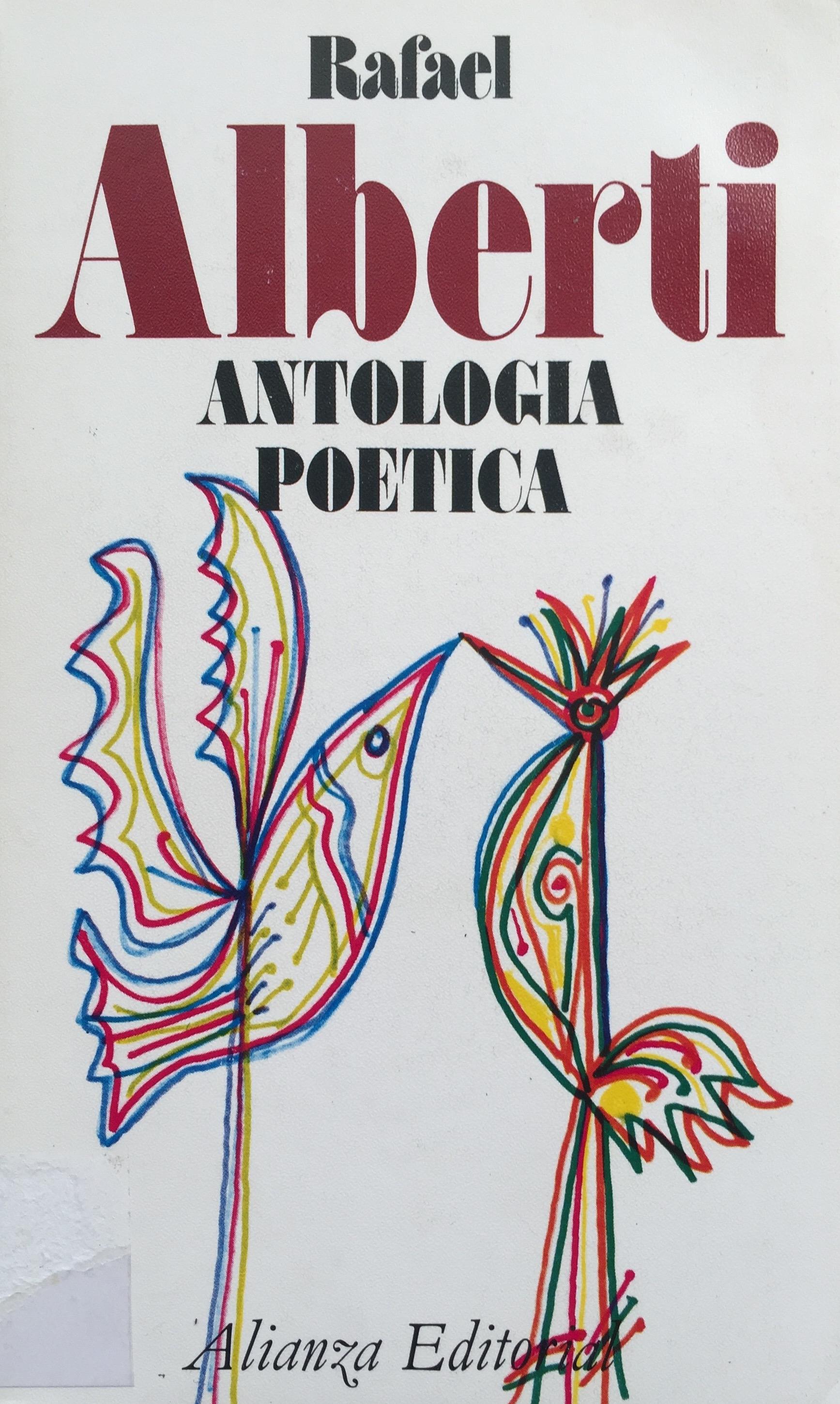 Antología Poética Rafael Alberti-Abre un libro
