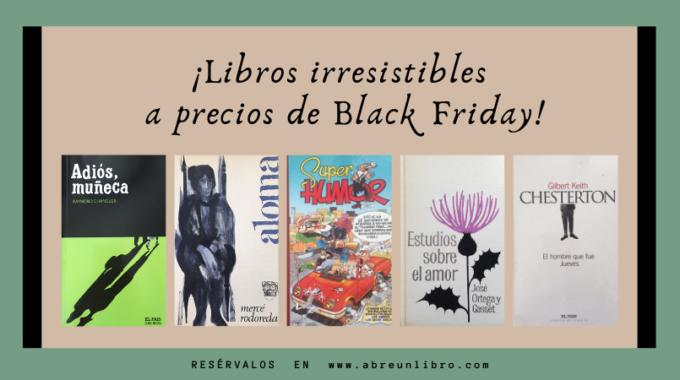 Libros De Ocasión A Precios De Black Friday