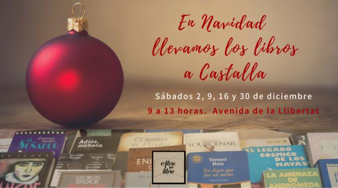 Los Sábados De Diciembre Llevamos Los Libros De Ocasión A Castalla: ¡celebra La Navidad Con Buenas Lecturas!
