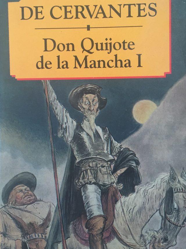 Don Quijote de la Mancha I-Abre un libro