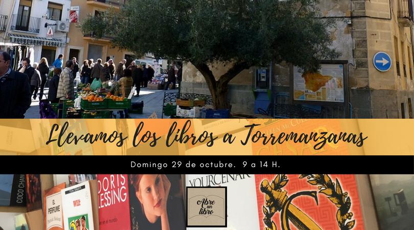 Llevamos los libros a Torremanzanas-Abre un libro