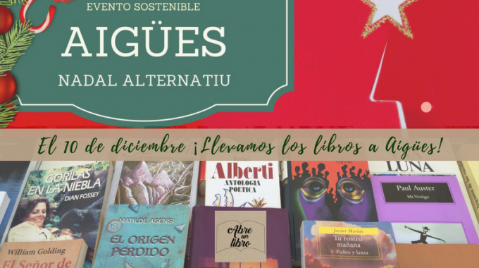 Este 10 De Diciembre Celebramos La Navidad Llevando Los Libros A Aigües: ¡abrígate Y Ven A Leer Con Nosotros!
