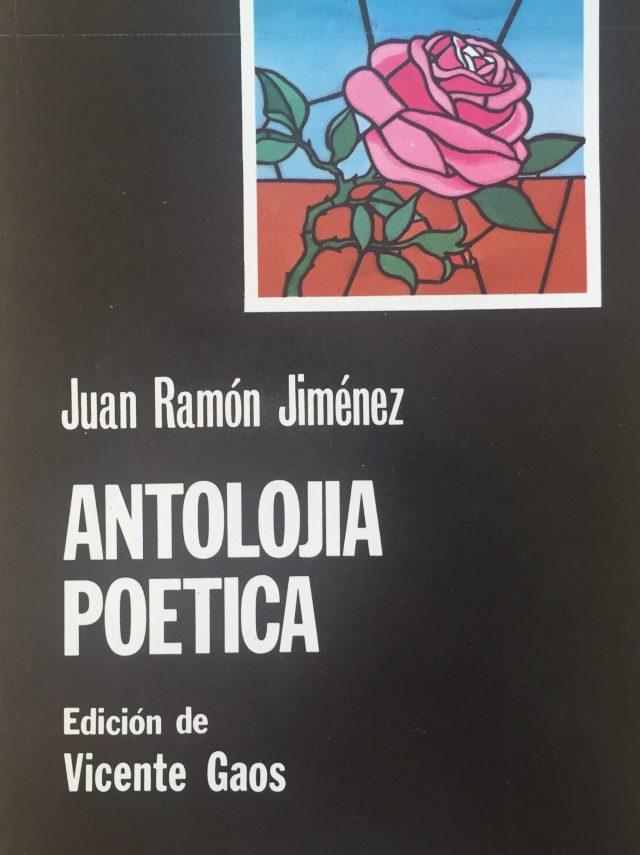 Antolojía poética- Abre un libro