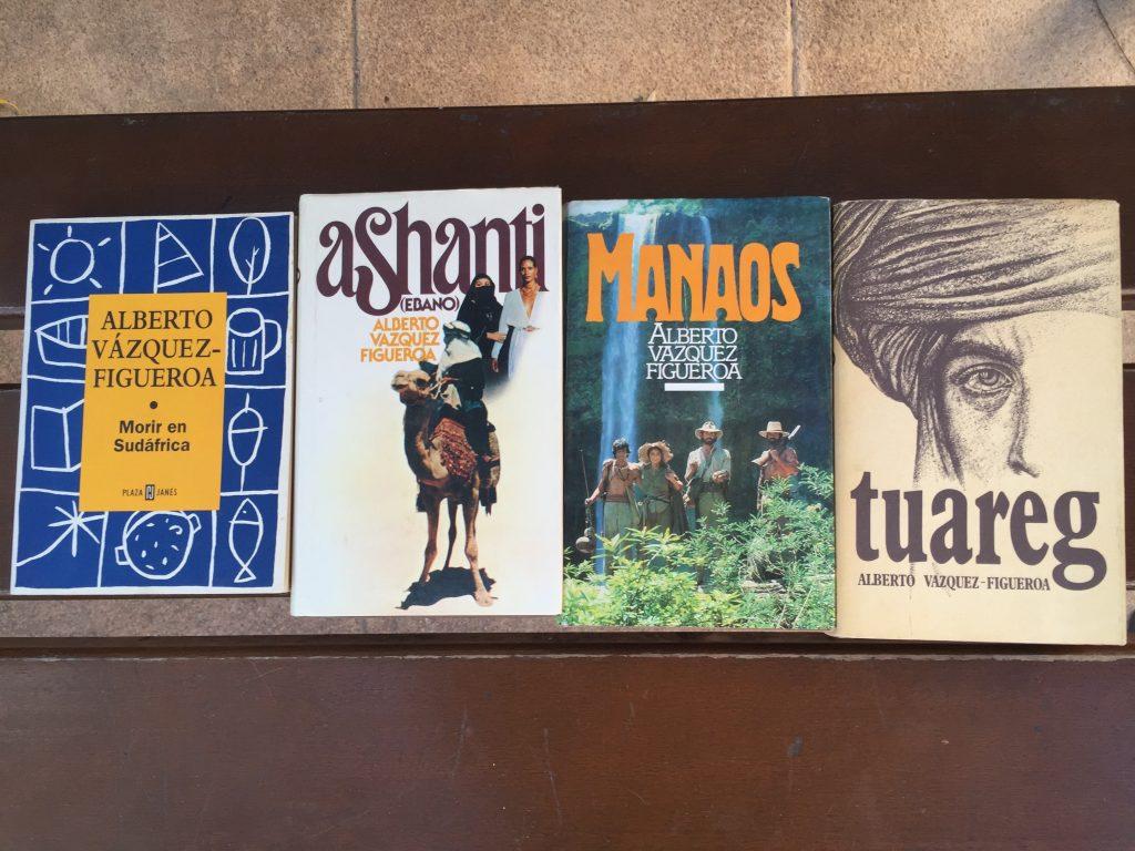 Libros de Alberto Vásquez Figueroa