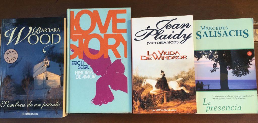 Novela romántica en Abre un libro