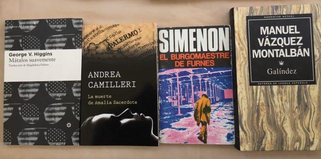 Novela negra - Abre un libro
