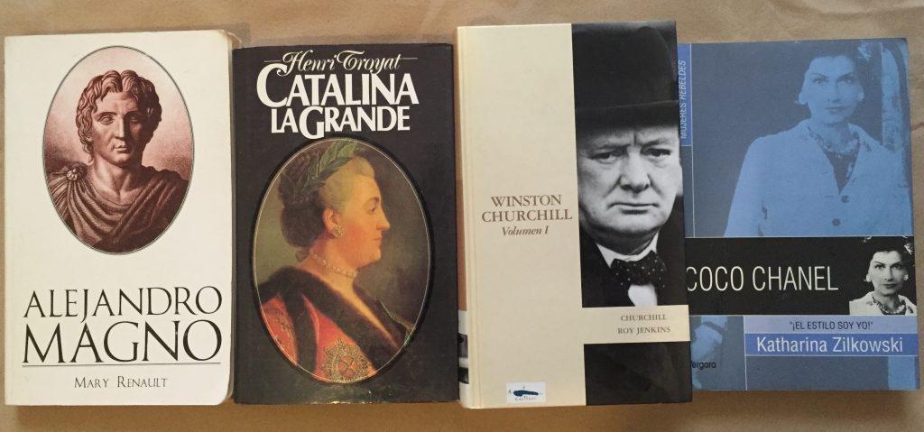 Biografías Abre un libro