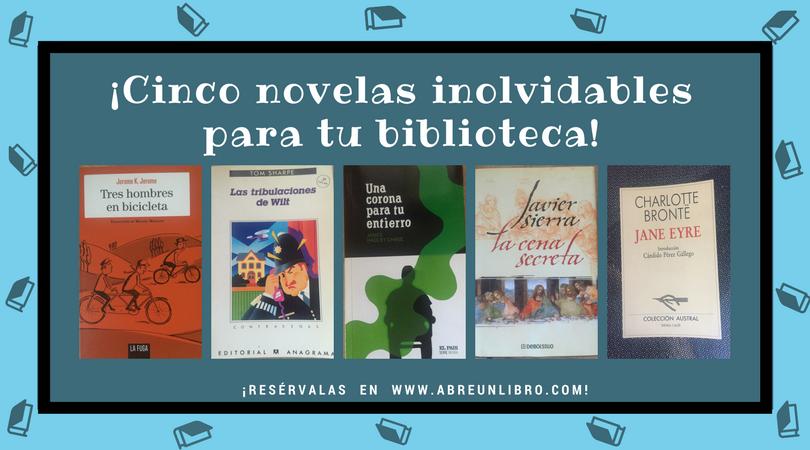 Cinco novelas inolvidables-Abre un libro