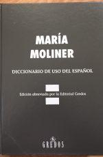 Diccionario de uso del español-Abre un libro