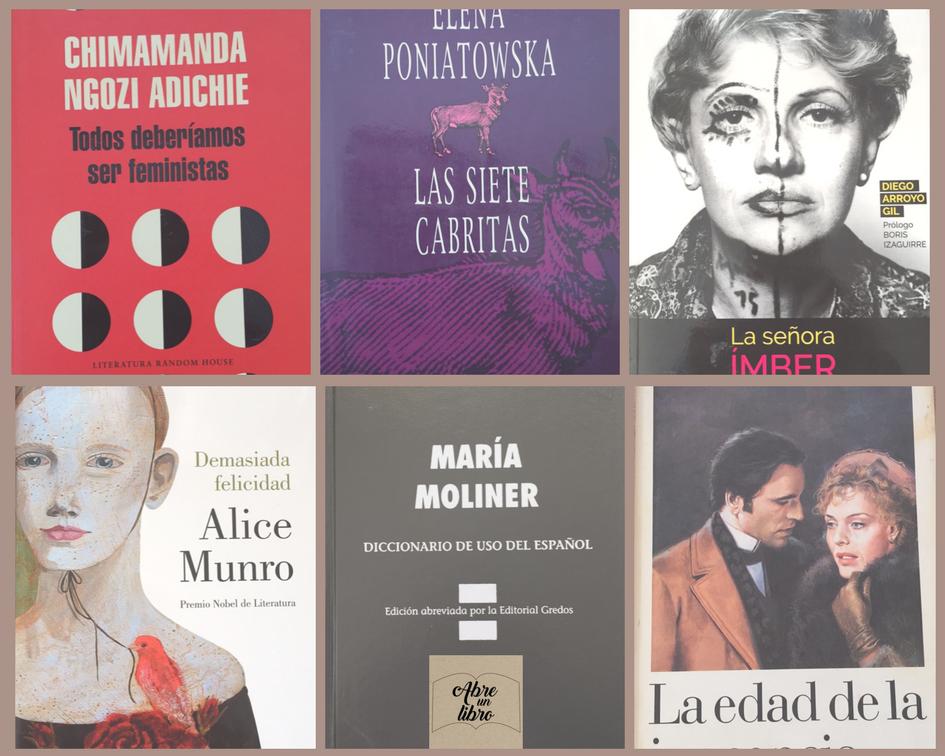 Libros Día de la mujer 2018-Abre un libro