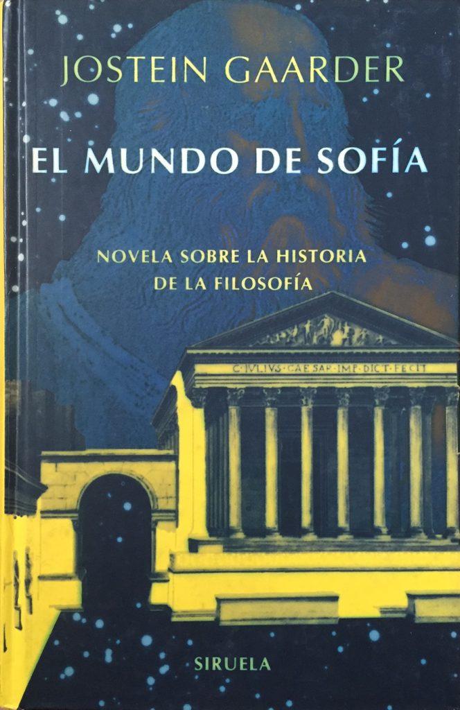 El mundo de Sofía-Abre un libro