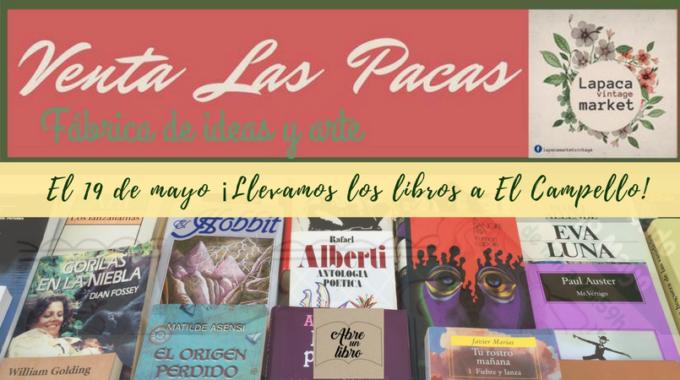 Este Sábado 19 De Mayo Llevamos Los Libros A La Venta En El Campello: ¡ven A Compartir Una Tarde De Arte E Ideas!