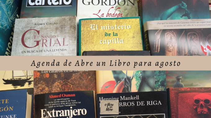 Agenda De Abre Un Libro Para Agosto: ¡el Verano Es Para Leer Nuestros Libros De Ocasión!