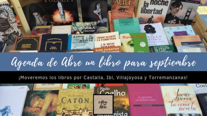 Agenda De Abre Un Libro Para Septiembre: ¡dale La Bienvenida Al Otoño Con Libros De Ocasión!