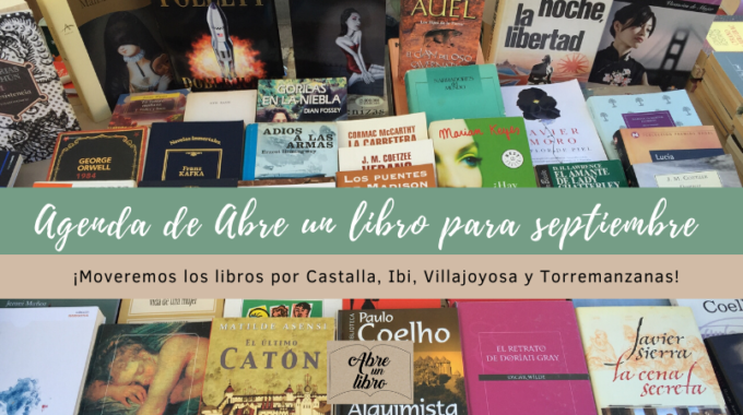 Agenda Sept Libros Sept. 2018