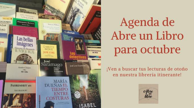 Agenda Abre Un Libro Octubre