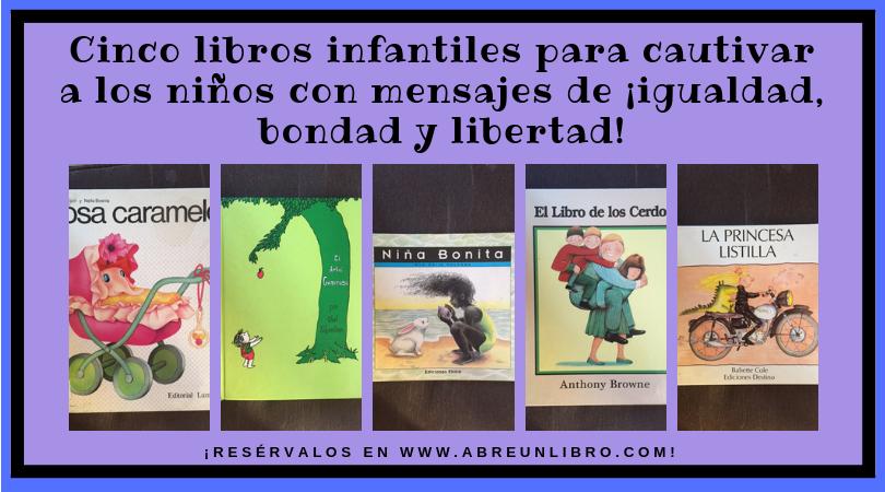 Cinco libros infantiles