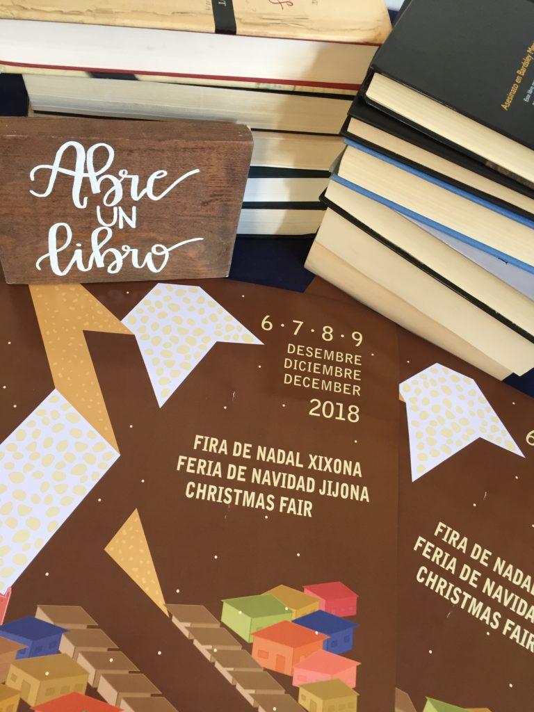 Abre un Libro en la Feria de Navidad de Jijona