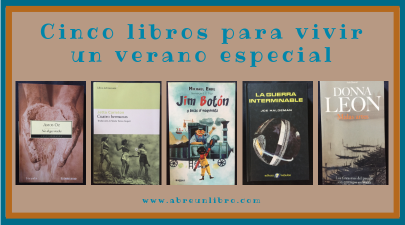 Cinco libros para acompañar el verano