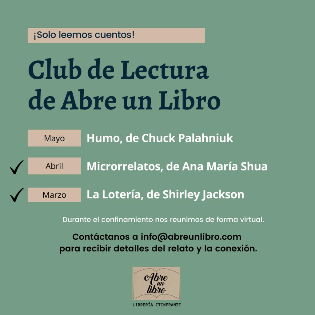 Club de Lectura de Abre un Libro