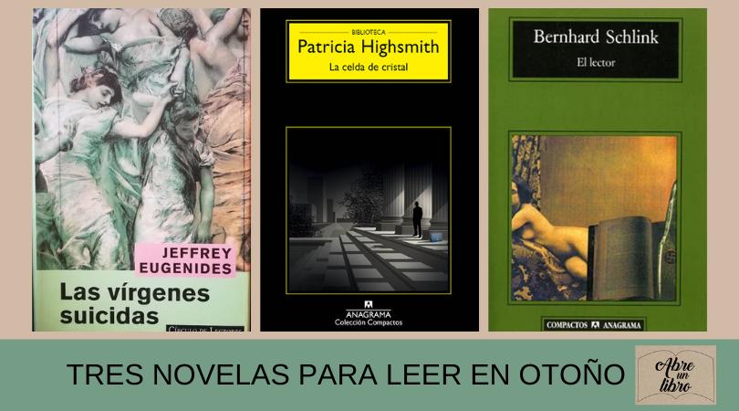 Te recomiendo tres novelas que te engancharán: ¡perfectas para leer en otoño!