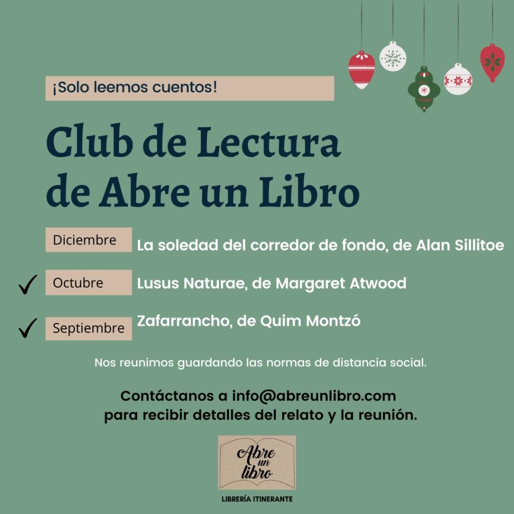 Club de lectura Abre un Libro