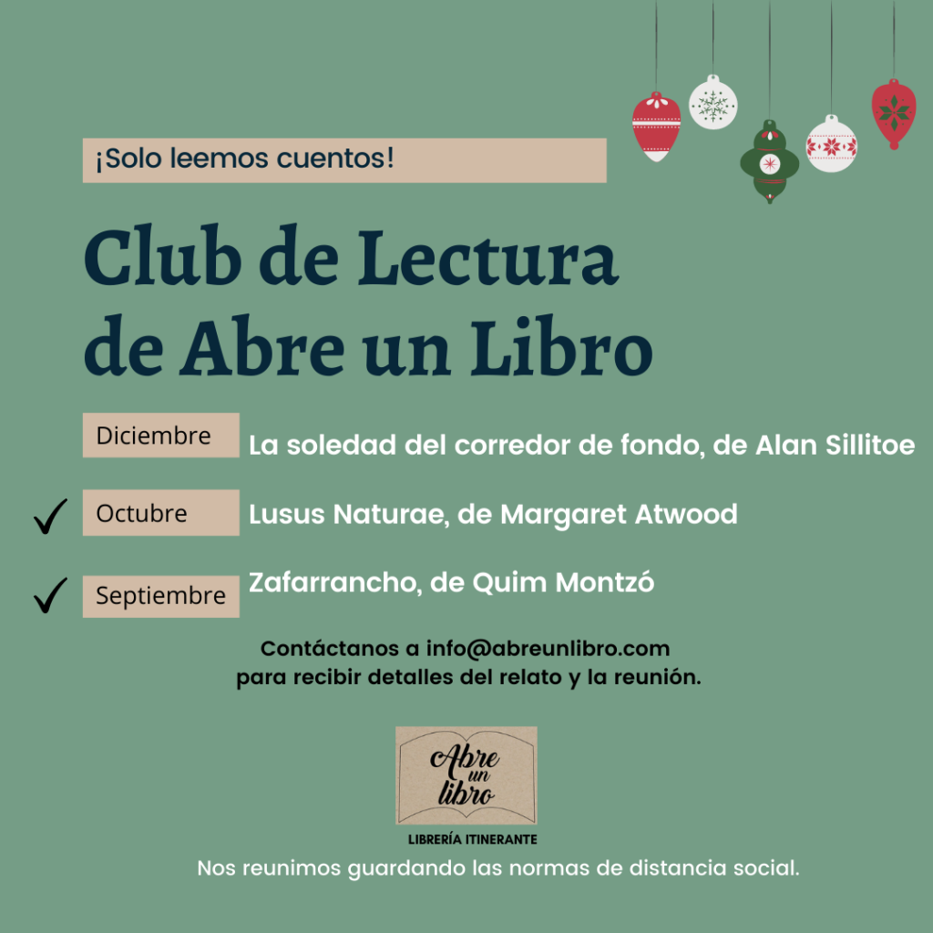 Club lectura Abre un Libro