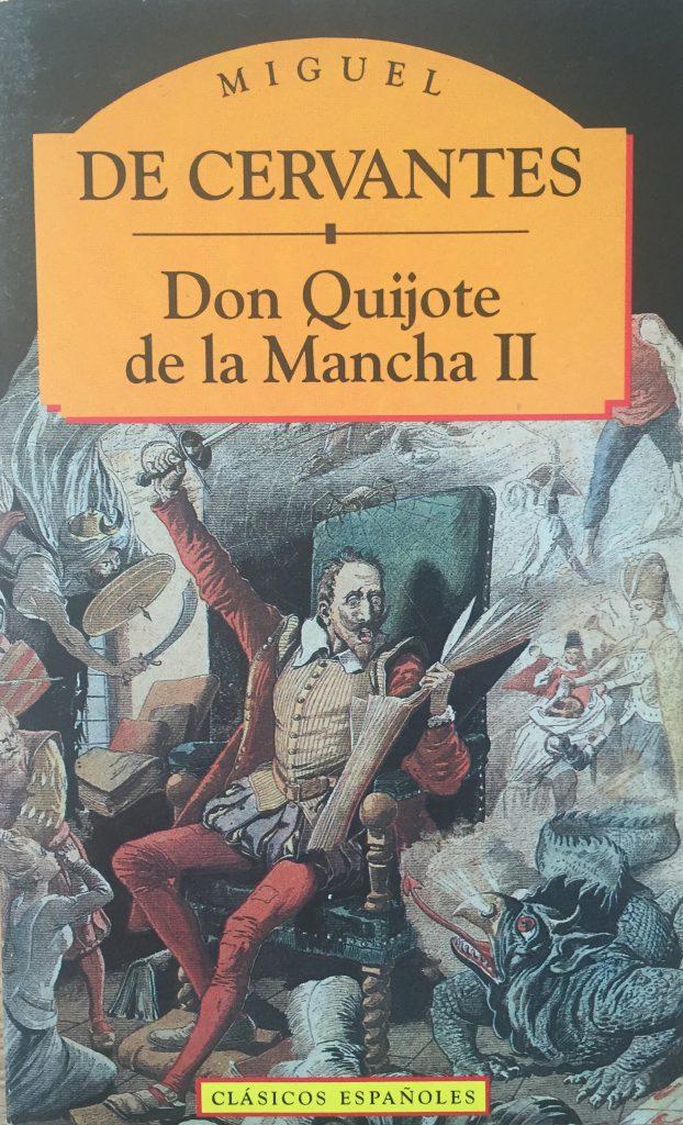 Don Quijote de la Mancha II Abre un libro