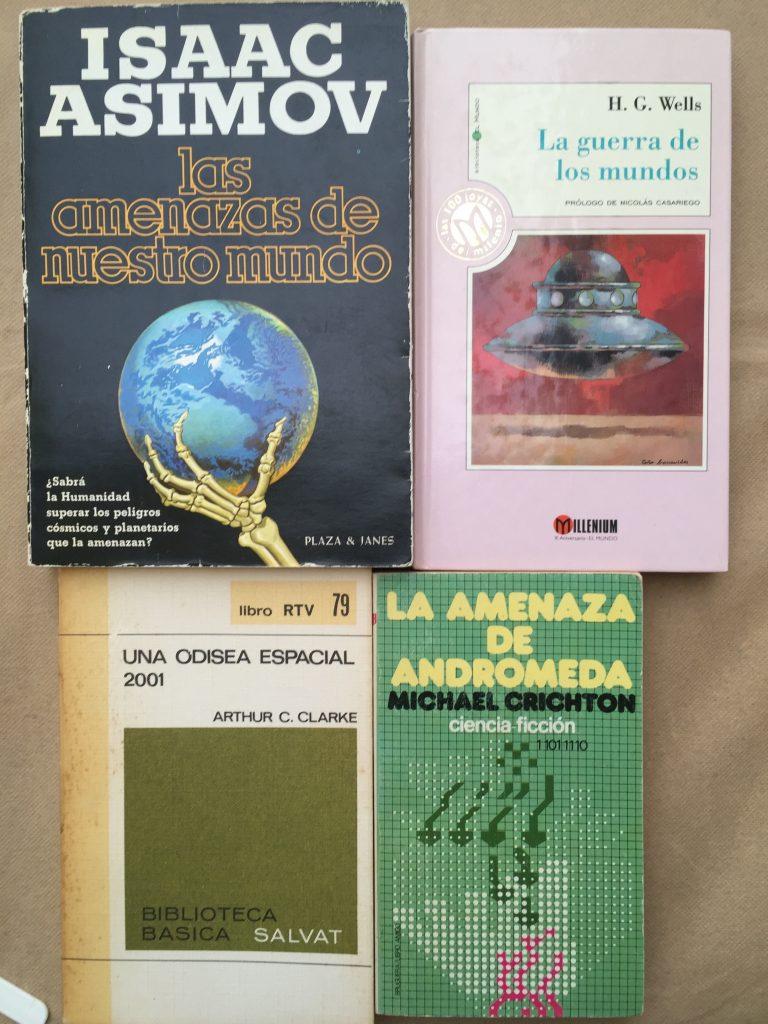 Libros de ciencia ficción Abre un libro