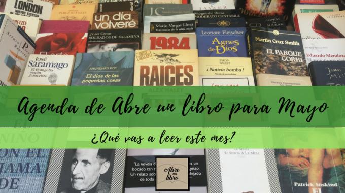 Agenda De Abre Un Libro Para Mayo: ¡celebramos La Primavera Con Libros De Ocasión!