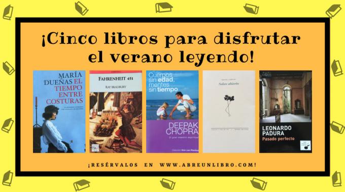 Cinco Libros Para Leer En Verano