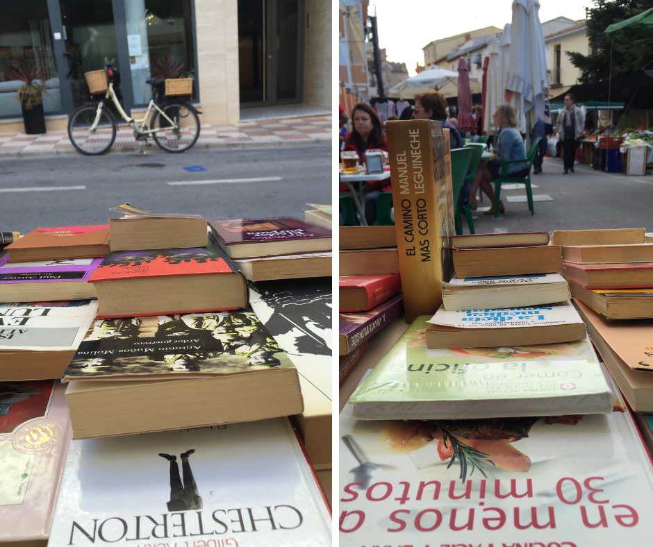 Abre un libro librería itinerante en Alicante