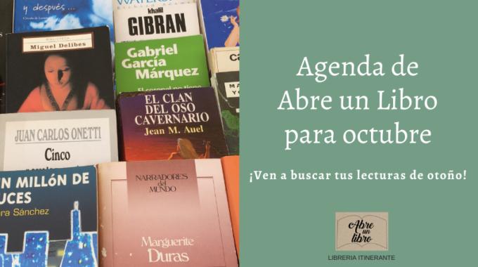 Agenda De Abre Un Libro Para Octubre: ¡comparte La Magia Del Otoño Con Un Libro De Ocasión En Tus Manos!