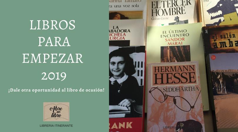 Libros para empezar 2019