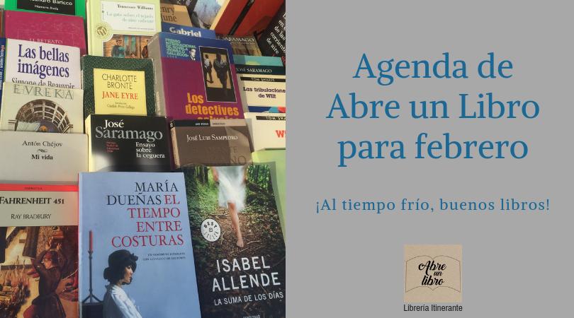 Librería Itinerante Abre un Libro