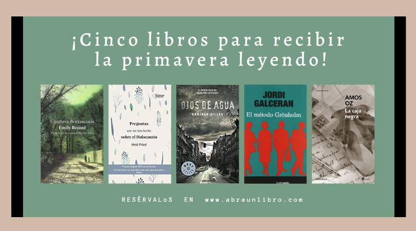 Cinco libros para recibir la primavera leyendo