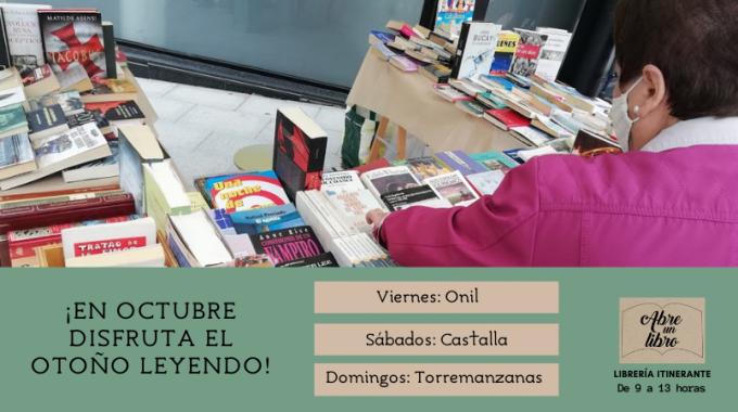 Agenda De Abre Un Libro De Octubre: ¡ven A Buscar Tus Lecturas Para El Otoño!
